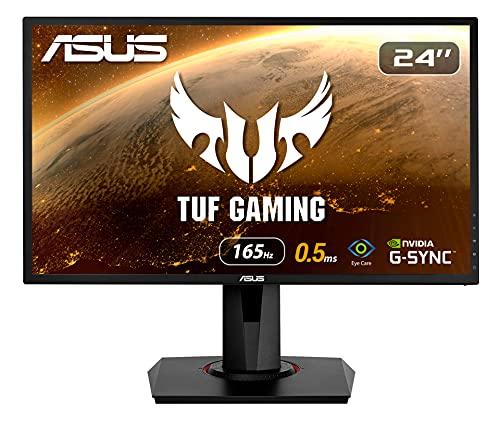 ASUS VG248QG 24 Zoll Monitor bis zu 165Hz, 0,5ms, 1920x1080