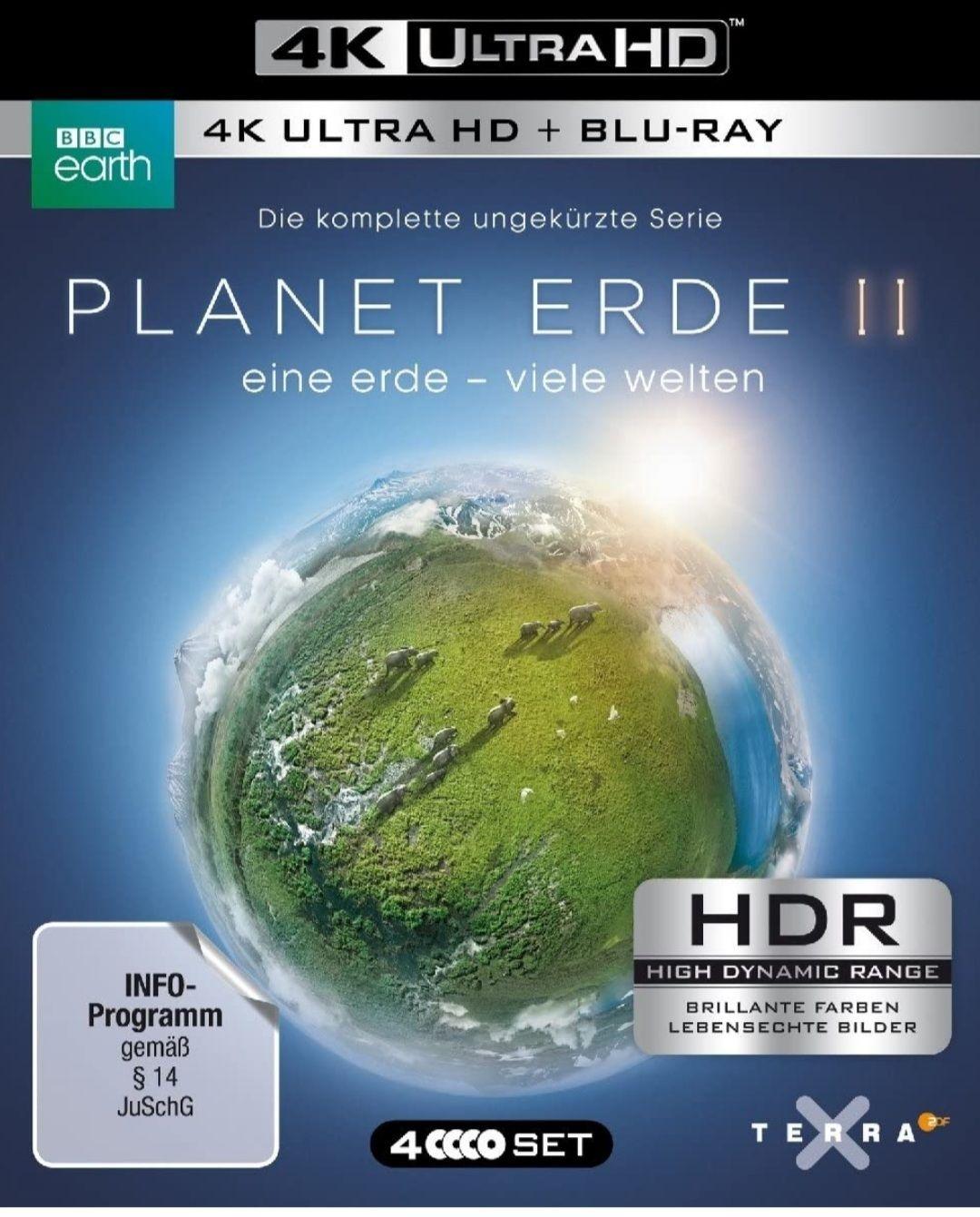 PLANET ERDE II: eine erde - viele welten. 4K
