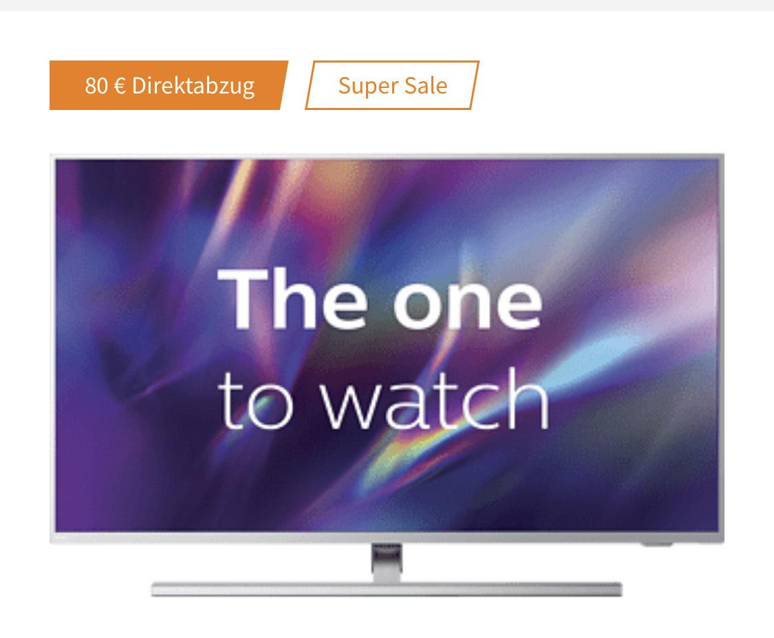 [Saturn Abholung] PHILIPS 58PUS8545/12 LED TV - Flat, 58 Zoll / 146 cm, UHD 4K, SMART TV, Ambilight, Android TV