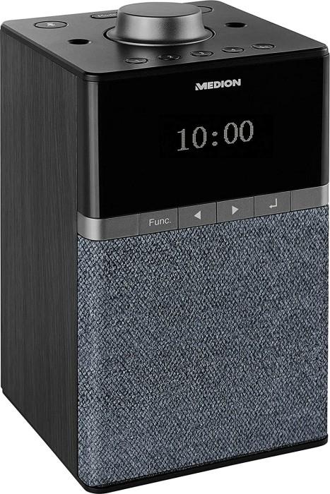 Medion Life P66130 All-in-One Audio-System (4W, DAB+, UKW, Bluetooth, WLAN, Internetradio per App, Spotify Connect, DLNA, Alexa, Multiroom)