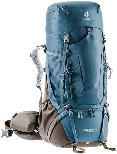 (Amazon) Deuter Aircontact Pro 65+15 SL (2021) Damen-Trekkingrucksack inkl. Daypack und Regenhülle