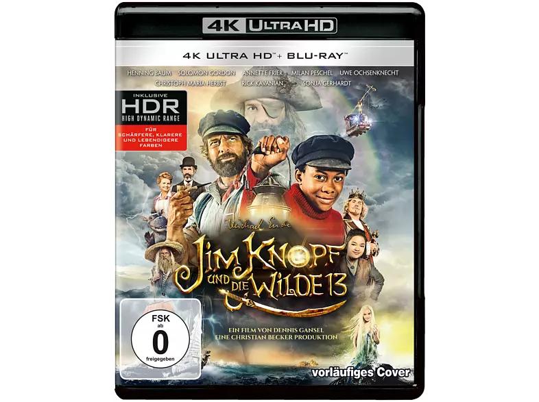 Jim Knopf und die Wilde 13 4K (4K UHD + Blu-ray)