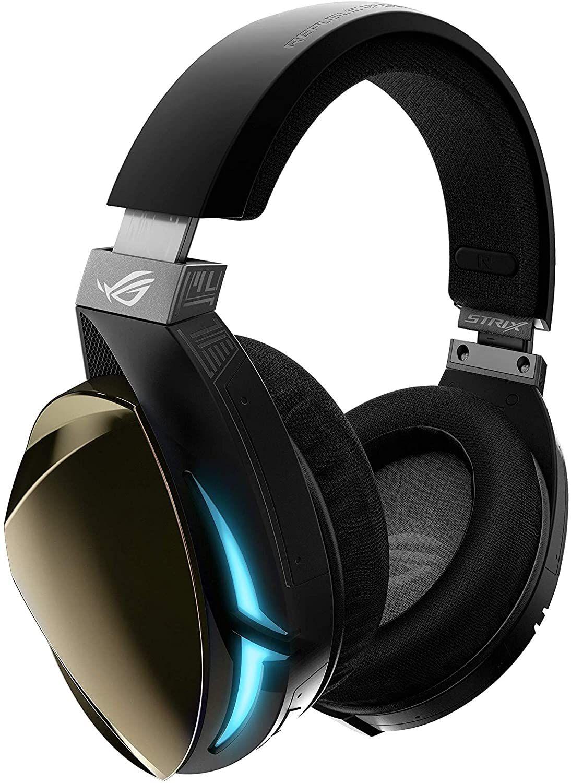 Asus ROG Strix Fusion 500 Over-Ear Gaming Headset (7.1 Surround Sound, integrierter DAC, USB, Aura Sync RGB, Textilkabel, Touchsteuerung)