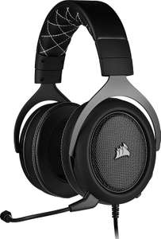 Corsair HS60 Pro Surround Gaming Headset (7.1 Sound (PC), USB, Memory-Schaumstoff, abnehmbares Mikrofon, für Switch, Playstation & Xbox)