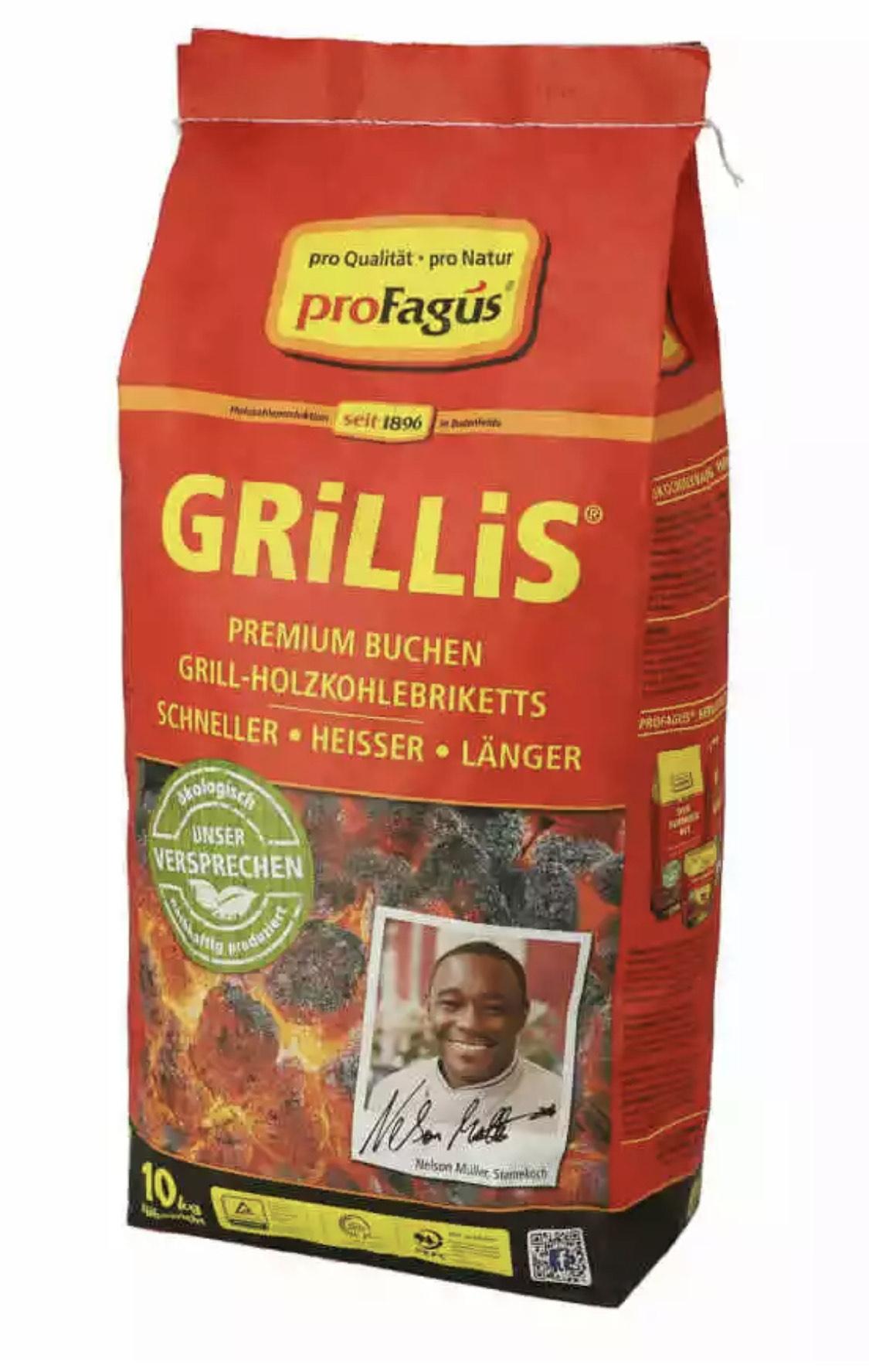 Profagus Grillis 10kg für 16,19€