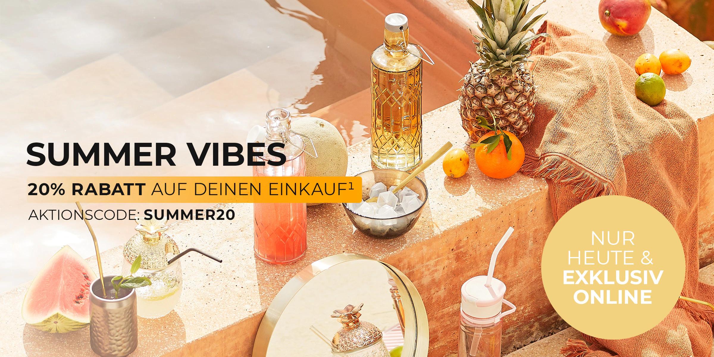 [Depot] Summer Vibes Sale - 20% Rabatt z.B. Sitzsack für 119,99€