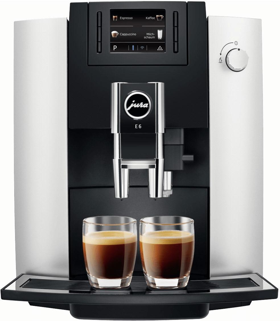 JURA E6 Kaffeevollautomat Platin Media Markt