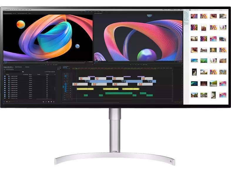 LG 34WK95U 34'' 5K2K Monitor, 21:9 UltraWide, WUHD 5120 x 2160, Nano IPS, Thunderbolt 3, 5 ms, 60 Hz