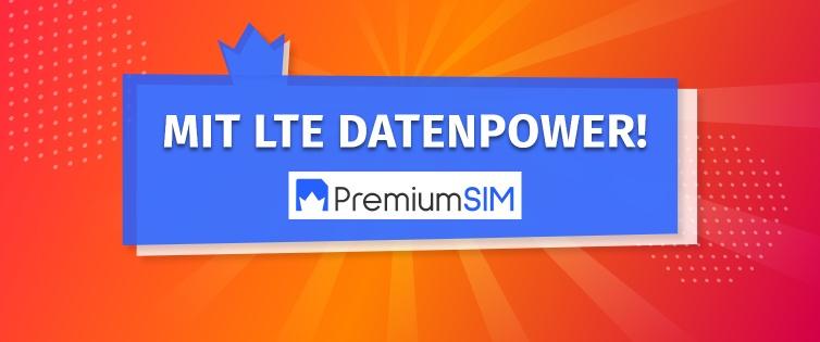 PremiumSIM & Shoop 6GB LTE M, Allnet Flat, SMS Flat für 6,99mtl, +10€ Cashback