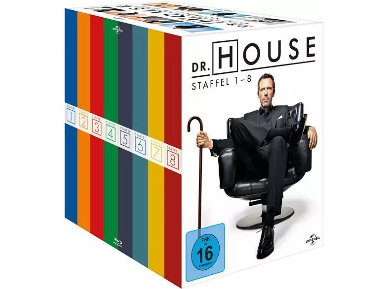 Dr. House - Die komplette Serie (Blu-ray) für 53,89€ (Media Markt Abholung)