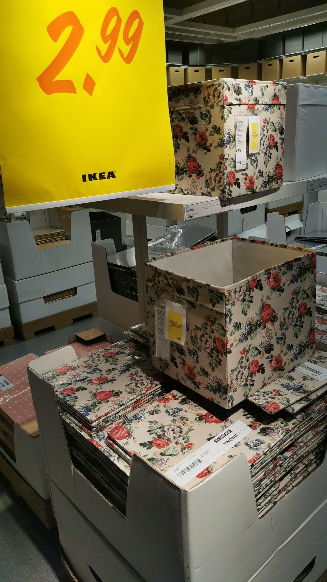 Dröna Blumenmuster 2,99€ *Ikea *