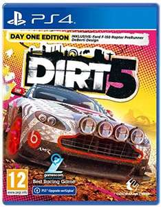 DIRT 5 - Day One Edition (Playstation 4) [PEGI-AT] [PrkmeDIRT 5 - Day One Edition (Playstation 4) [Prime]