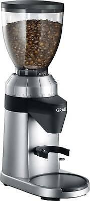 Graef CM800 CM800EU Kaffeemühle Silber, Schwarz Stahl-Kegelmahlwerk