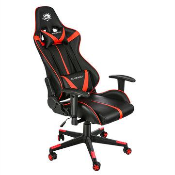 BlitzWolf BW-GC7 Gaming Stuhl; Bürostuhl in rot; Ergonomic Desig; New Upgrade; verstellbare Armlehne, für 75,12€ mit Versand aus der EU