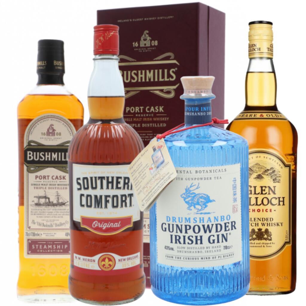 *edit* Zusätzlich kostenloser Versand; Whisky, Gin & Wodka Angebote: Esbjaerg, Glen Talloch, Gunpowder, Bushmills & Southern Comfort.