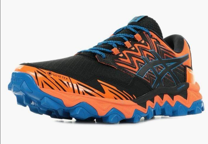 ASICS Herren Gel-Fujitrabuco 8 G-tx Running Shoe Orange Gr. 43,5 bis 45 und 48 für 75€ inkl. Versand
