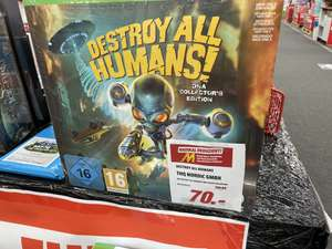 [XBox One] Destroy all Humans Collector's Edition