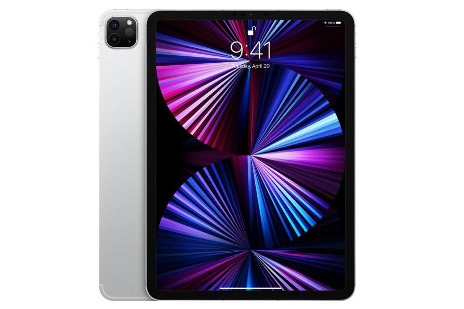 """Cyberdeal Apple iPad Pro 11"""" 2021 Wi-Fi 256 GB Silber MHQV3FD/A"""