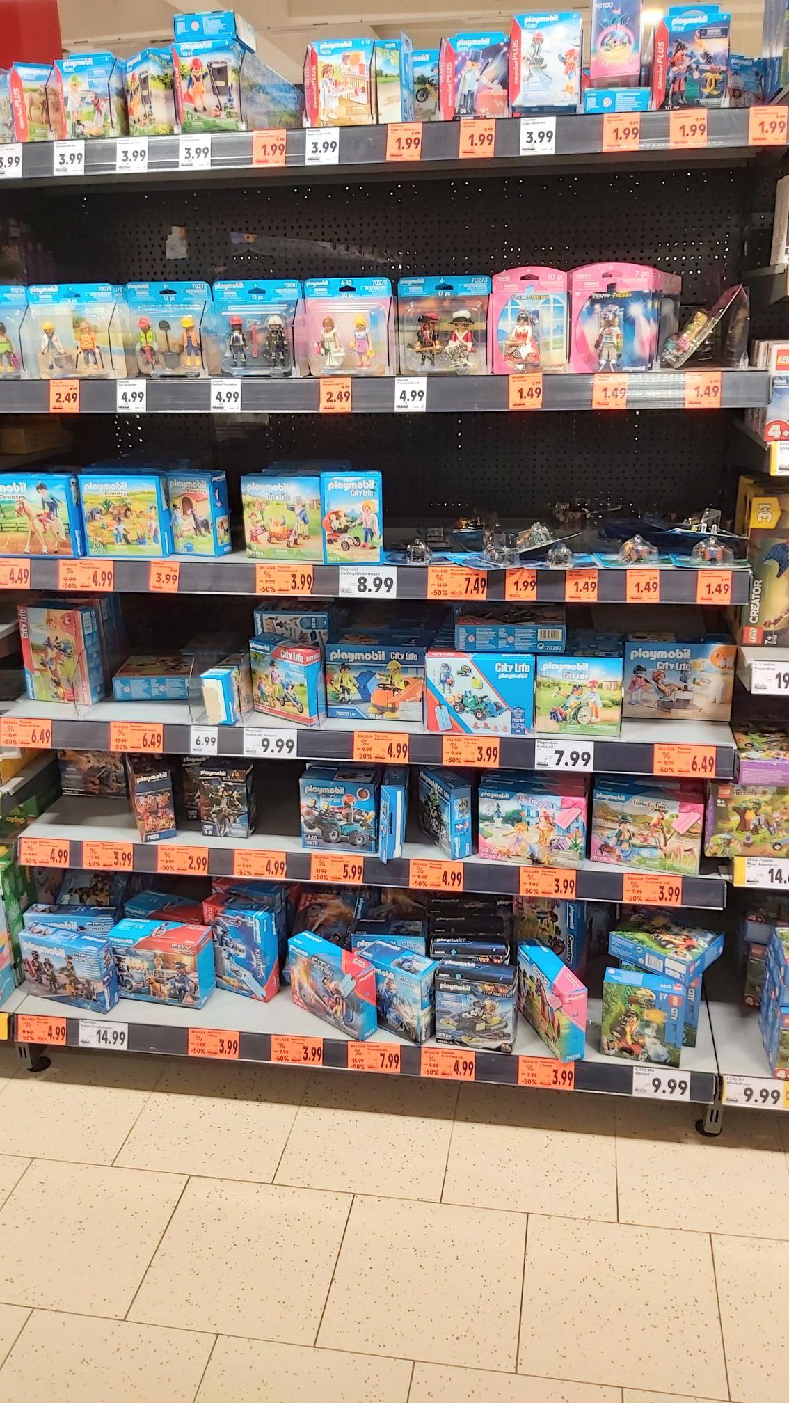 Kaufland Bad Saulgau: Playmobil zum halben Preis
