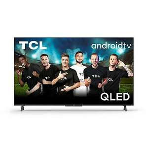 """TCL 50C725 QLED Fernseher 50"""" 4K Ultra HD, HDR10+, Smart-TV Android 11, HDMI2.1"""