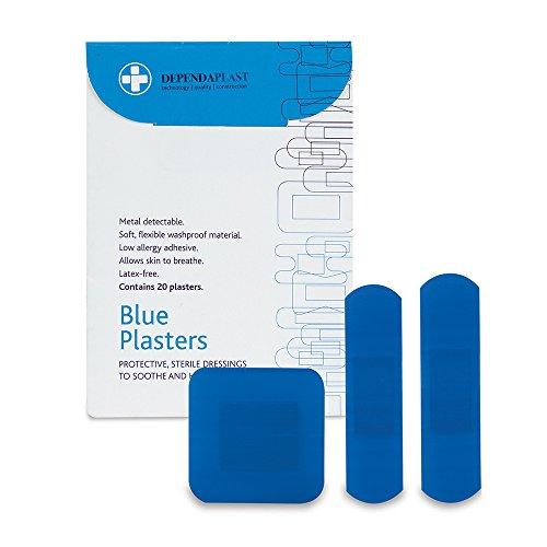 Reliance Medical Dependaplast Pflaster blau, mit Metalleinlage (Prime)