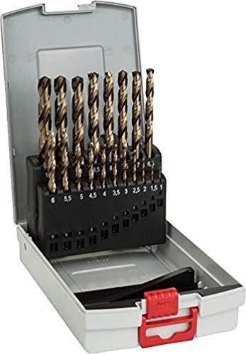 [Amazon Prime] Bosch Professional 19tlg. Metallbohrer-Set HSS-Cobalt ProBox (für Edelstahl, Zubehör Bohrschrauber)