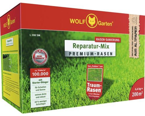WOLF GARTEN Premium-Rasen mit Starter-Dünger L 200 SM | für 200m²