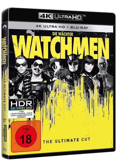 Watchmen - Die Wächter - The Ultimate Cut 4K Ultra HD + Blu-ray MM Marktanlieferung