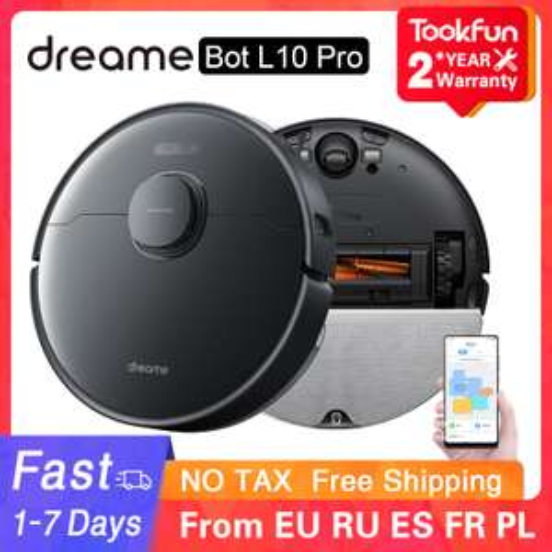 Dreame Bot L10 Pro 4000Pa Saugroboter mit Wischfunktion EU Lager
