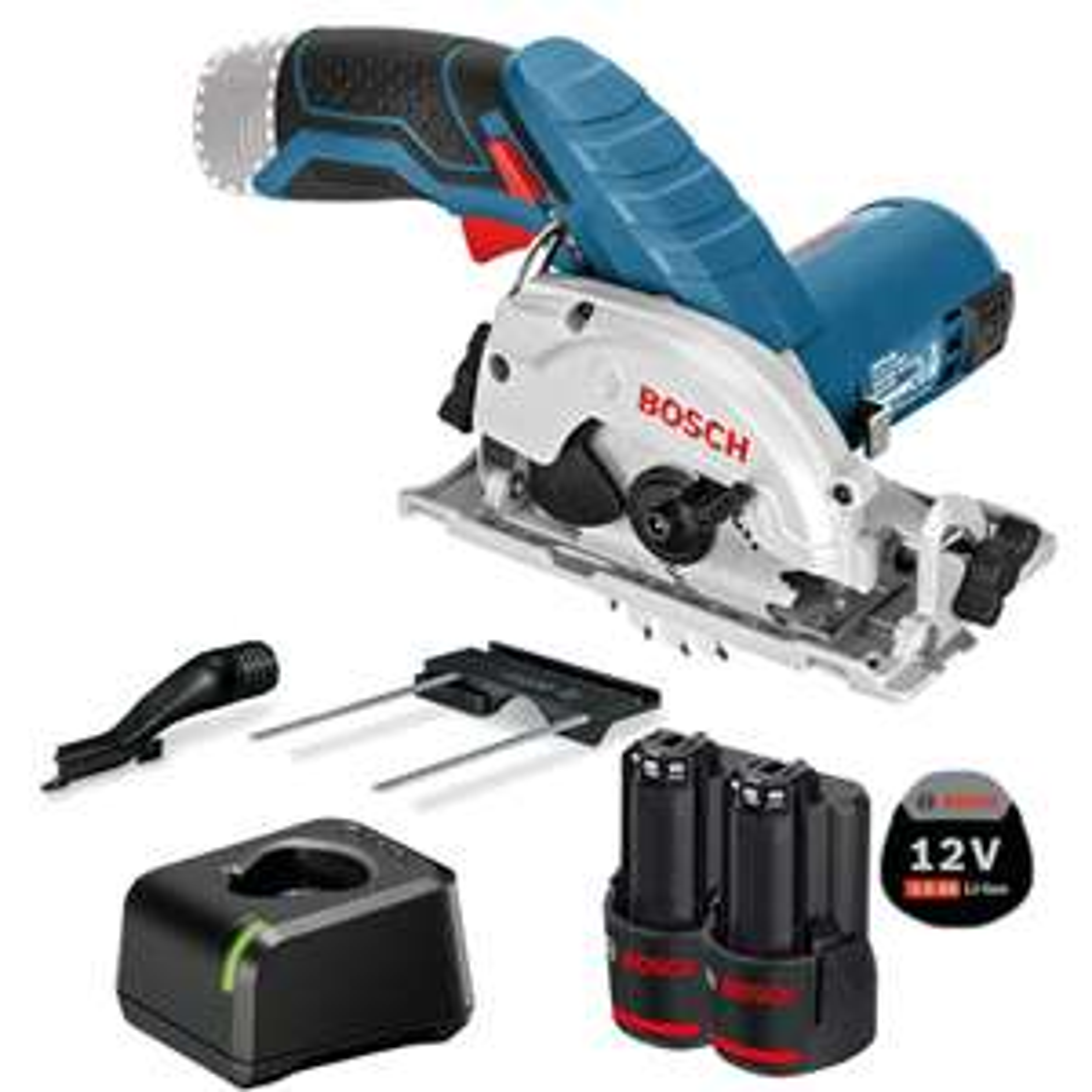 Bosch GKS 12V-26 Professional 12V / 2x 3,0 Ah Akku + Ladegerät