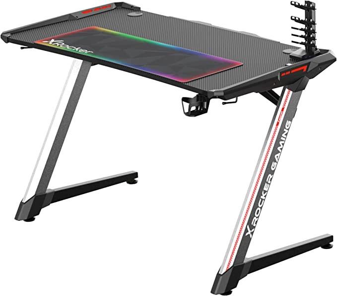 X Rocker Lynx RGB Bling bling gaming Schreibtisch