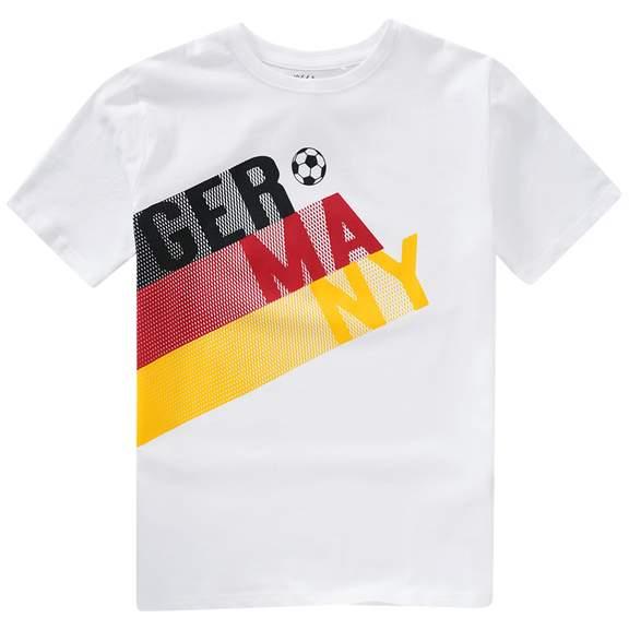 """30% Rabatt auf die Themenwelt """"Team Germany"""" (EM-Artikel) bei Ernsting's family - z.B. Jungen T-Shirt im EM-Look (Gr. 134 - 164)"""