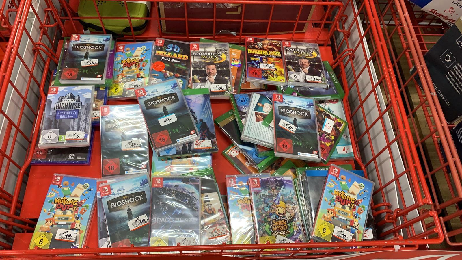 [Lokal MM Speyer] Bioshock & Borderlands Collection für Nintendo Switch jeweils 10€
