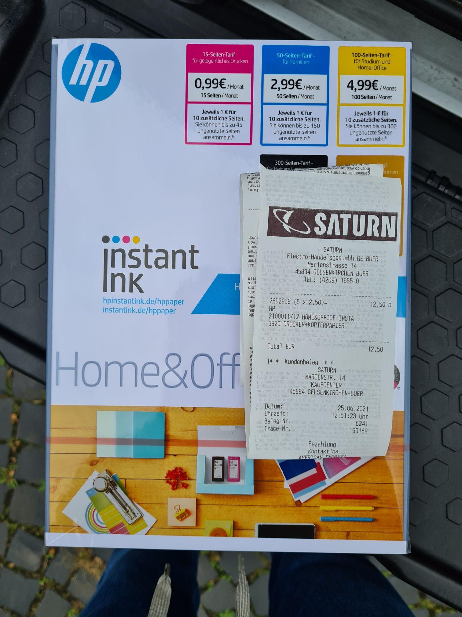 [Lokal: Saturn Gelsenkirchen Buer] HP Home&Office CHP150 Kopierpapier