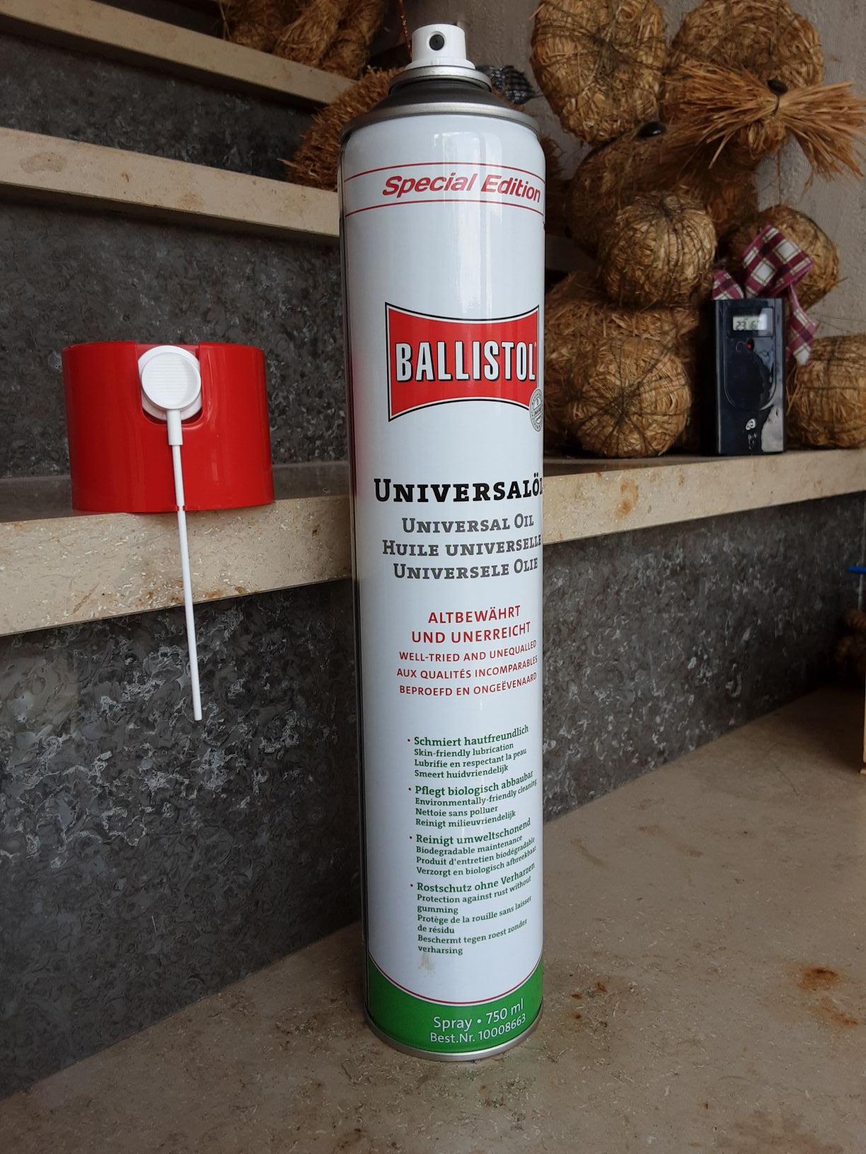 Ballistol Universalöl, 750ml Louis Edition, 12,99eu, 17,32eu/ l, Vk frei ab 199eu ODER Filialabholung