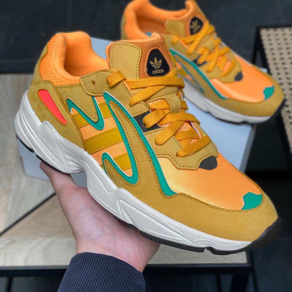 adidas Originals Yung-96 Chasm Sneaker in orange (Gr. 38 2/3 - 45 1/3) [B-Ware]