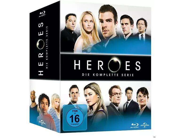 Rette die Cheerleaderin, rette die Welt! Heroes - Die komplette Serie (Blu-ray) für 30,09€ (Saturn)