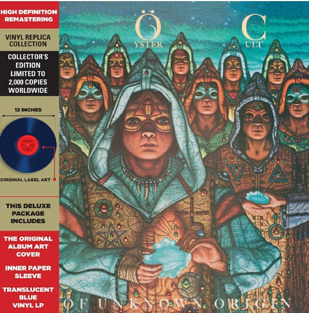 (Prime) Blue Öyster Cult - Fire Of Unknown Origin (Limited Edition) (Translucent Blue Vinyl LP)