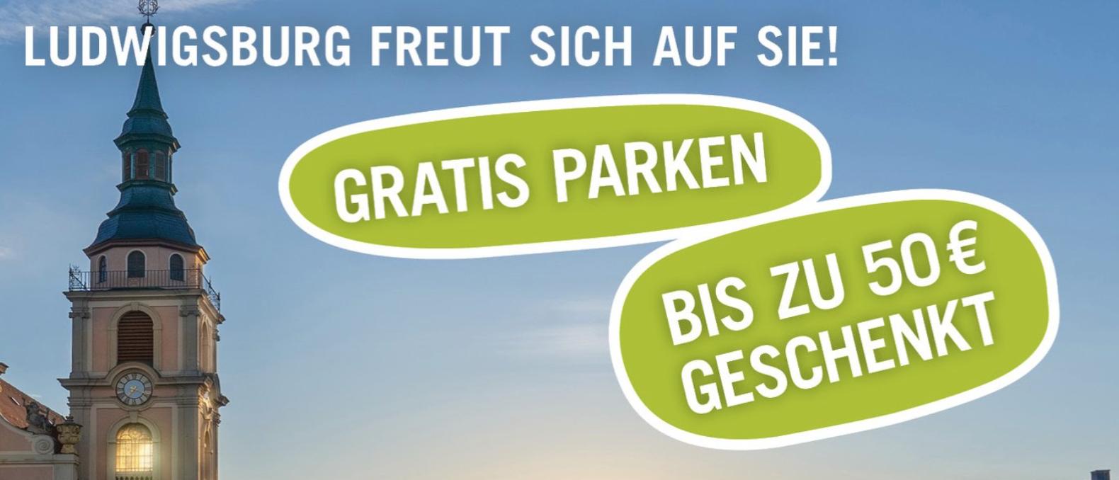 Lokal Ludwigsburg Einkaufsgutschein für den Einzelhandel 5€ geschenkt je 20€ Gutschein