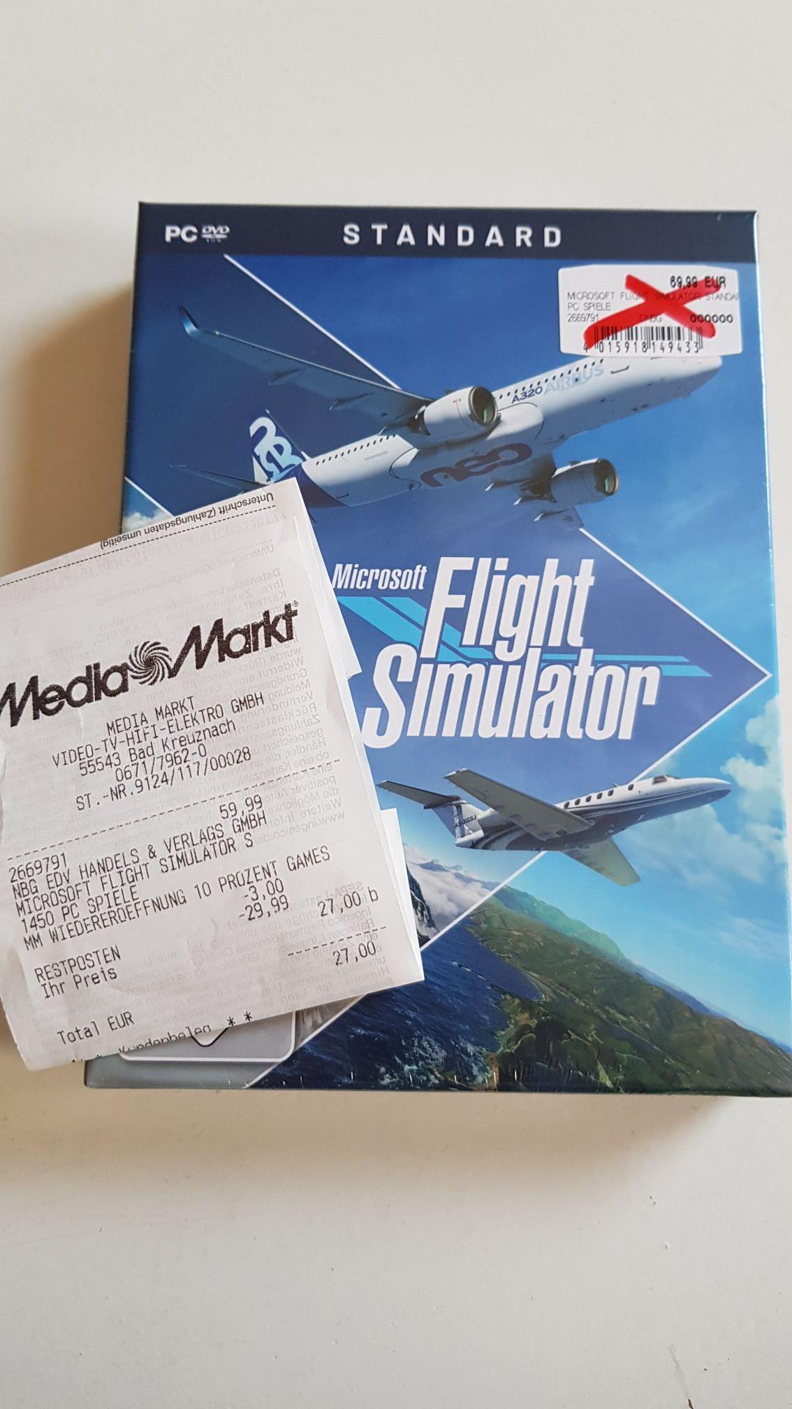 [Lokal MM Bad Kreuznach] Flight Simulator Standard Edition (PC) - 17€