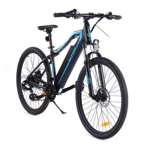 "Bezior E-BIKE/Pedelec M1 27,5"" Elektrofahrrad Mountainbike E-MTB 250W 48V/12.5Ah 25km/h 80KM Shimano 7-Gänge"