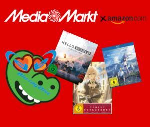 Anime Filme und Serien (Blu-Ray Sammeldeal) - u.a. Your Name., Violet Evergarden, ...