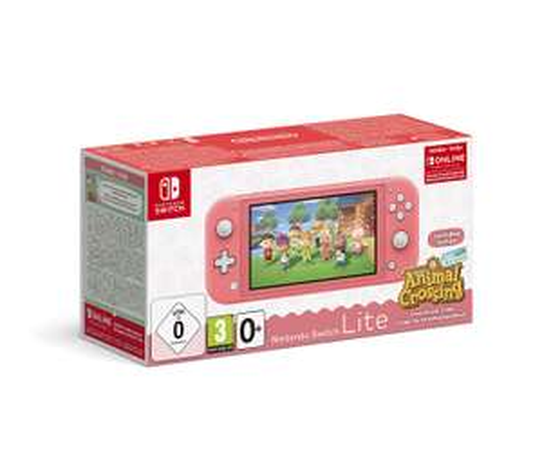LOKAL - Nintendo Switch Lite Koralle inkl. Animal Crossing: New Horizons (Code) + 3 Monate Switch Online für 161,50€ (Media Markt Krefeld)