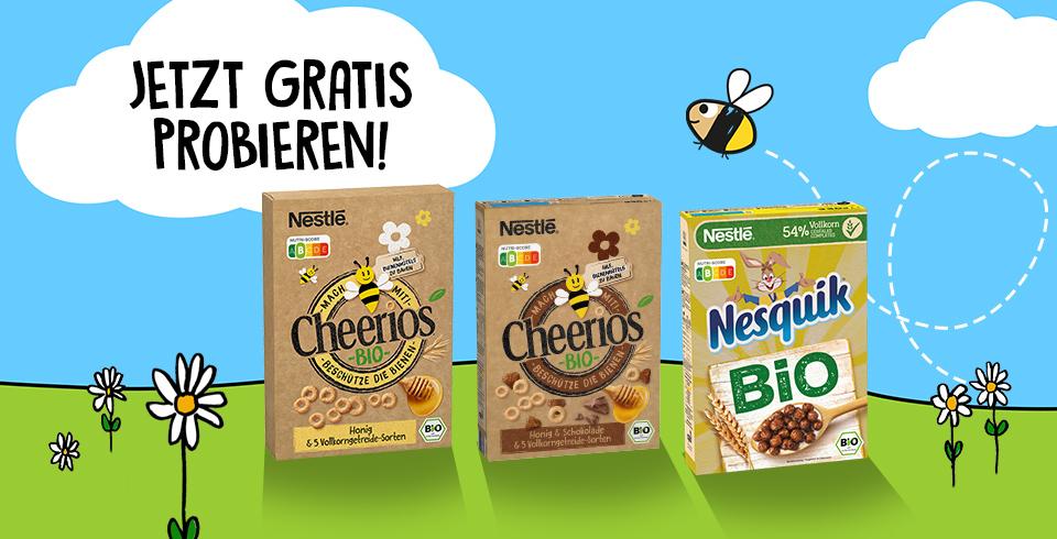 Bio Cerealien Cheerios Gratis Testen [GzG]
