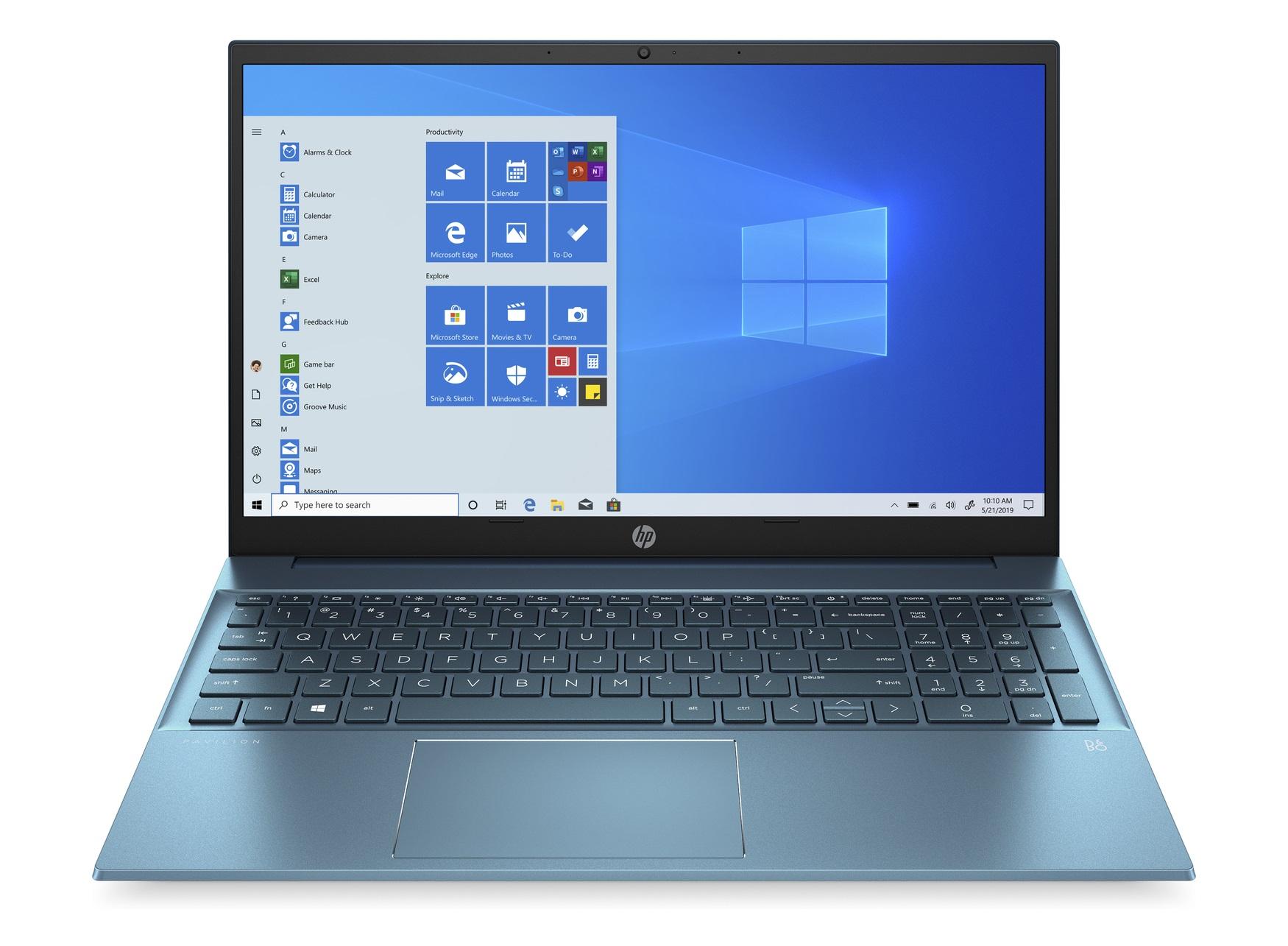 [Studenten] HP Pavilion mit AMD Ryzen™ 7 5700U, blau, 15 Zoll, 16GB RAM, 1TB SSD