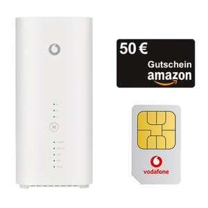 Huawei GigaCube Cat19 Router (mobiler WLAN Hotspot) + 50€ Amazon Gutschein mit Vodafone GigaCube Flex Tarif für 4,99€ ZZ + 49,99€ AG