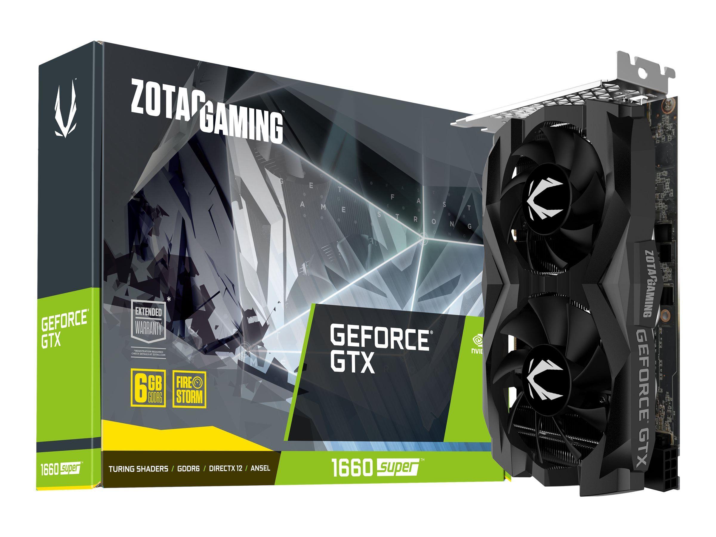 Zotac GeForce GTX 1660 Super Twin Fan 6GB GDDR6