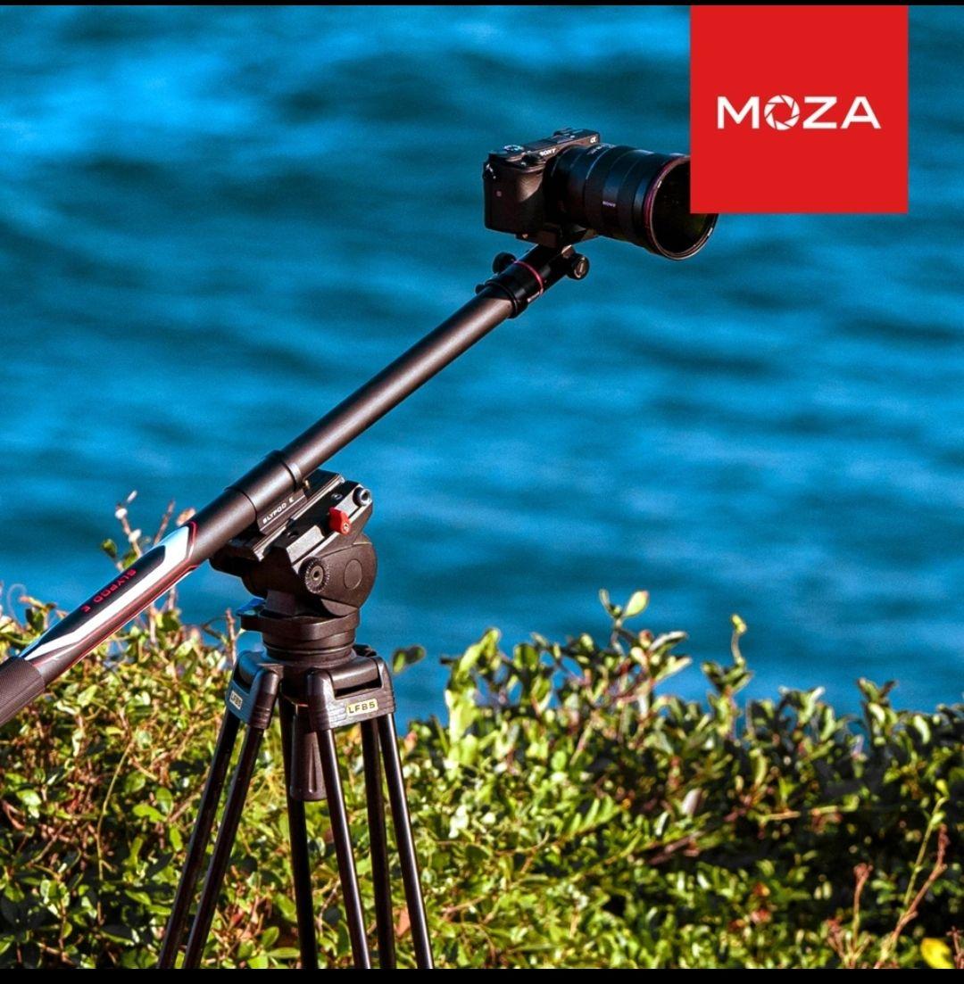 Moza Slypod E 2-in-1 Einbeinstativ und Pan Tilt Head