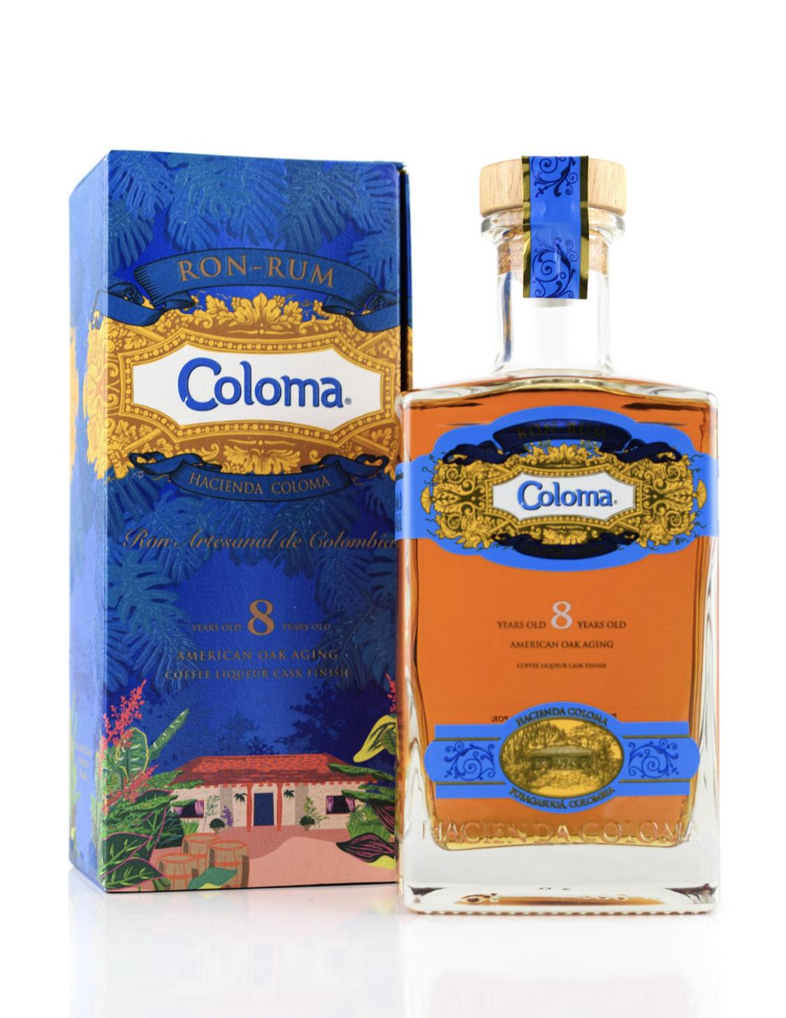 Hacienda Coloma 8 Jahre Rum (40%/0,7l)