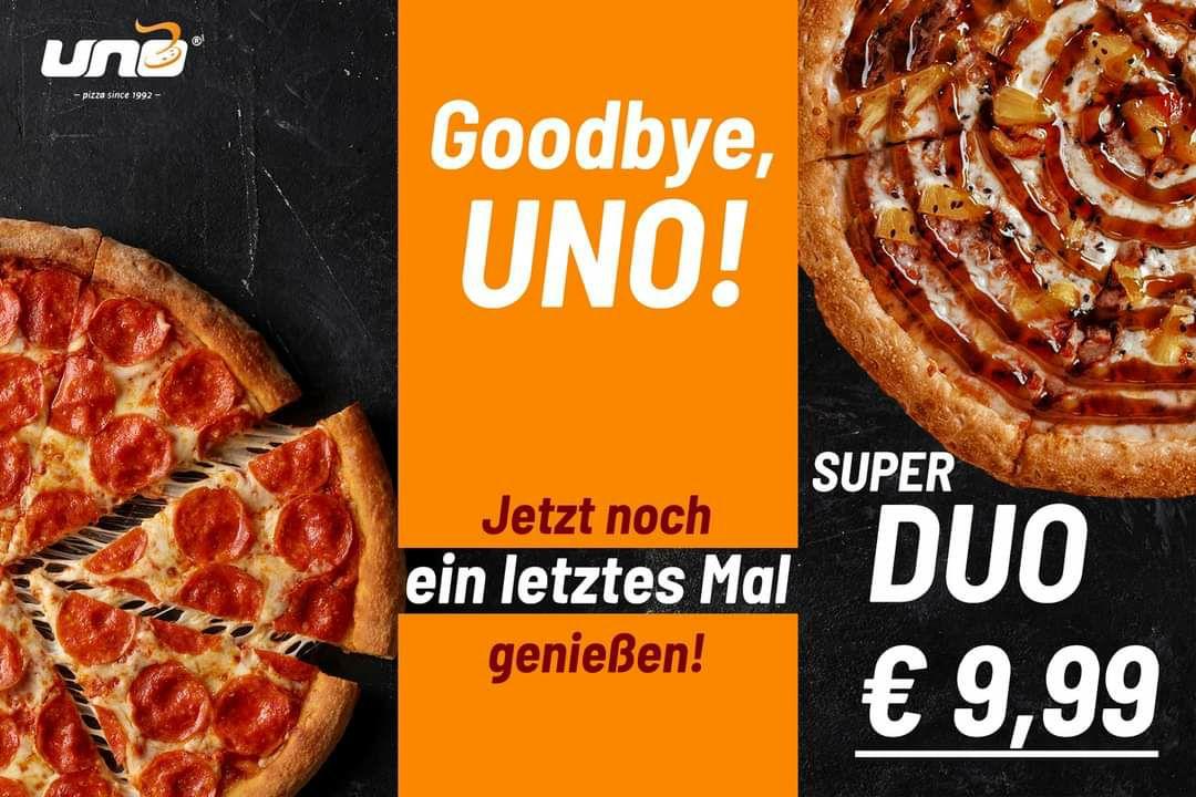 [uno-pizza] [Lokal] 2x Classic S für 9,99
